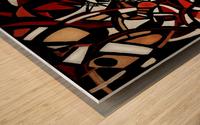 Pathological Space Wood print