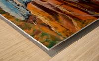 Carpatian cascade    Wood print