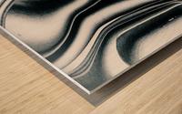 Molten Tree Wood print