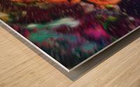 Color Flow F Wood print