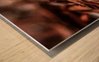 Wood Chips Wood print