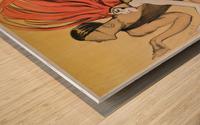 Varonska et Alperoff poster Wood print