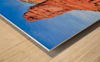Bell Rock Sedona Wood print
