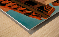 KANSAS CITY COUNTRY CLUB PLAZA Wood print