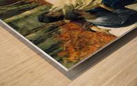 Autumn, detail by Alma-Tadema Wood print