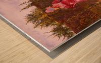 An idyllic afternoon Wood print