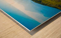 Alpine views Wood print