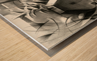 Leiden - 11-11-15 Wood print