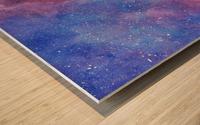 Galaxis Wood print