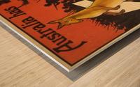 Australia has promised Britain Wood print