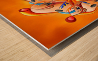 Kaloderoni V2 - dream machine Wood print