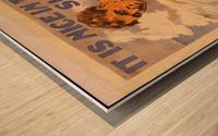 Go help Wood print