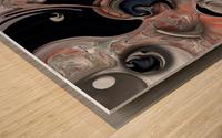 Vision and Morphism Wood print