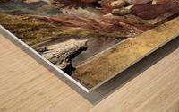 Camera degli Sposi Wood print