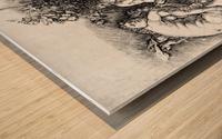 Bacchanal in Silene Wood print