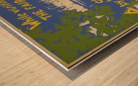 Visit Sea Cliff Wood print