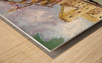 Il Mediterraneo come era una volta Wood print