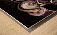 My Sensitive Morphysm Wood print