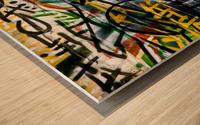 Disagreement Wood print