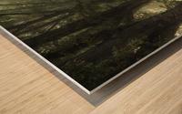 Tunnel of inner calmness Wood print
