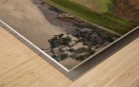 Selskiy peyzazh Wood print