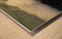 Silence Wood print
