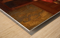 Der Kardinal Wood print