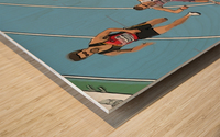Athletics_13 Wood print