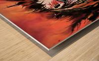 Lonely Angel of God Wood print
