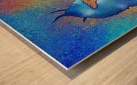 Tenimessa V1 - amazing seahorses Wood print