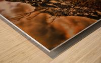 Rocky Mountain Way Wood print