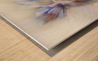 Taking the lead Wood print