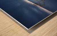Carrasqueira azul Wood print