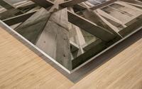 ceiling Impression sur bois