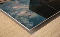 Meeting point Wood print
