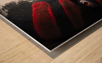 4 Elements - Fire Wood print