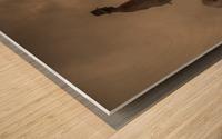 New world creation Wood print