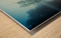 Laguna Morning Wood print