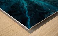 Hidden Frozen World Wood print