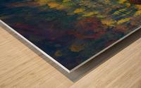 Autumnal silence Wood print