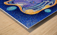 Angeonilium V4 - frozen beauty Wood print