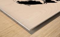 Monsieur Wood print