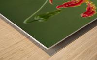 Flame Flower  Wood print