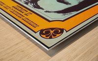Van Morrison Wood print