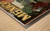 Mexico Land of Tropical Splendor Wood print