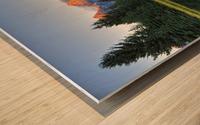 Beavers View of Tetons Wood print