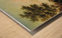 View of Maarsen on the Vecht Wood print