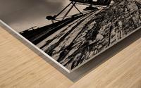 Angled wreck Wood print