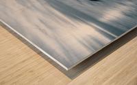 Moody Blue Presqu'ile Wood print