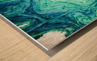 Ocean Floor Wood print